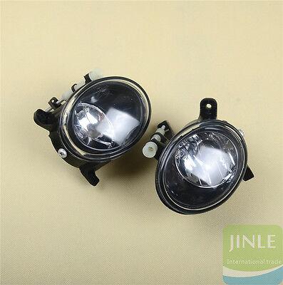 L & R Front Halogen Foglights Foglamps For AUDI A4 S4 Allroad B8 A6 S6 C6 Q5 A5