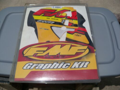 FMF Graphics Kit with Seat Cover RM80 200-2001 010801