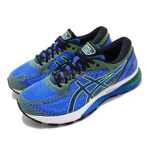Details about Asics Gel Nimbus 21 4E Extra Wide Blue Black White Men Running Shoe 1011A168-400