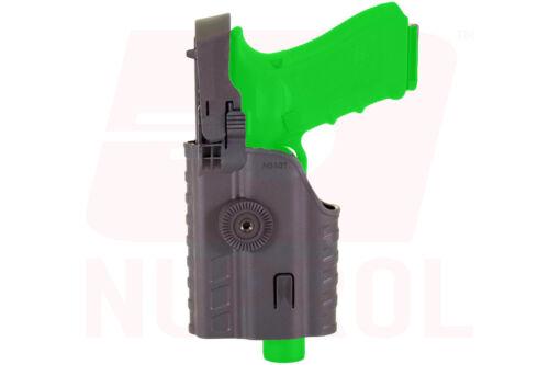 Black /& Tan 6211 NUPROL Glock 17 EU Series Light Bearing Holster for NX Torch