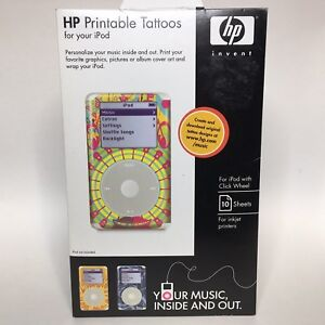 photo about Hp Printable identified as Contemporary HP Printable Tattoos For Your iPod For iPod With Click on