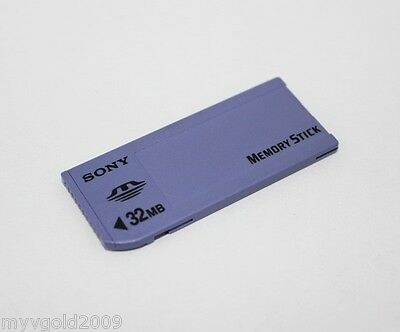 Original Sony 32MB Memory Stick MS, Long MS, For Sony Camera Old Model