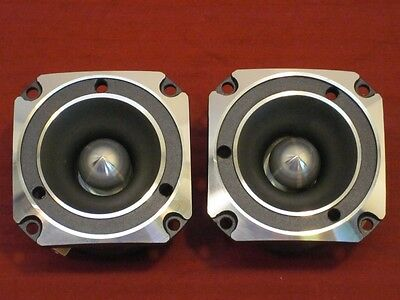 """.inch one NEW 1/"""" Tweeters Speakers.Pair.Home Audio.Driver.8 ohm.Replacements. 2"""