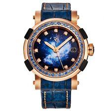 Romain Jerome Women's Arraw Star Twist Blue Dial 18K Gold Watch 1S39AOOOR.STB19