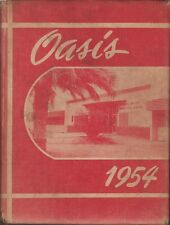 Oasis 1954. Imperial Valley Union High School Yearbook (California)