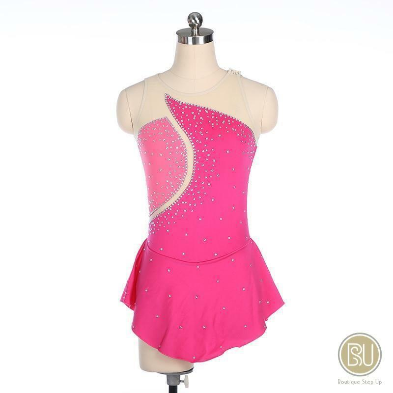 Figure Skating Dress Sleeveless Available in 10 Farbes
