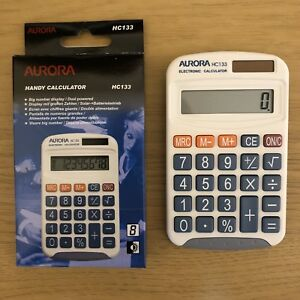 Aurora-Electronics-HC133-Basic-Calculator