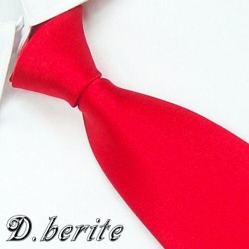 Meeting Formal New Men's Necktie Wedding Party 100% Silk Tie Plain Color Solid