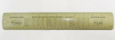 Vintage Minneapolis Star Tribune Metal Ruler Ebay