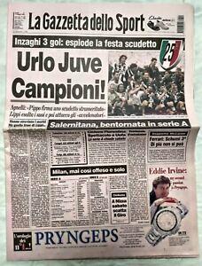 GAZZETTA-DELLO-SPORT-11-MAGGIO-1998-JUVENTUS-CAMPIONE-D-039-ITALIA-25-SCUDETTO-05-5