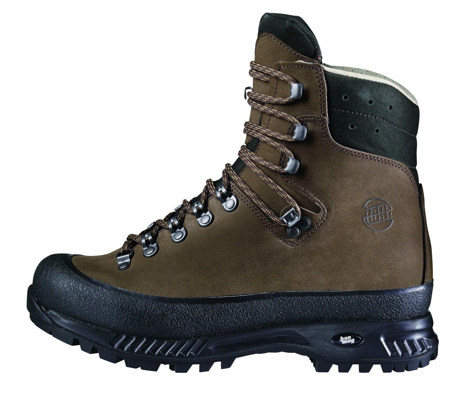 Hanwag KSK  Yukon Wide Men Cuir Taille 11,5 - 46,5 Terre