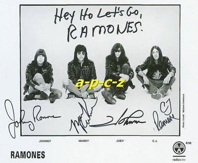 RAMONES Fotokopie//copy autogramme 10x15 cm//9