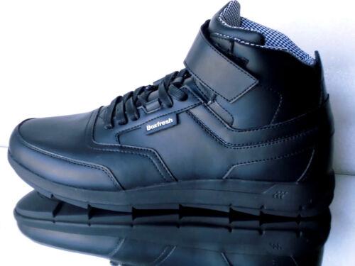 zapatos 14051 Tamaño Boxfrech Amton negro E Trh 46 de Nuevo 40 Botas cuero Lea IZvvz