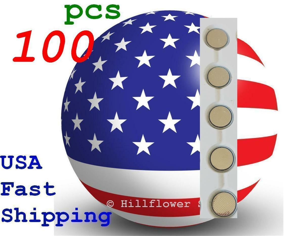 100 piece CR1220 LM1220 BR1220 1220 Bulk 3V Lithium Battery USA Seller