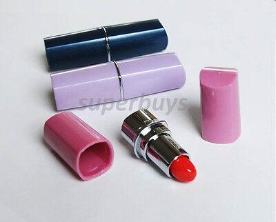 Lipstick Secret Stash Safe Diversion Conceal Hidden Compartment Fake Pill Box