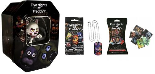 Five Nights At Freddy's Exclusive Mangle Holiday Collectors Tin Set