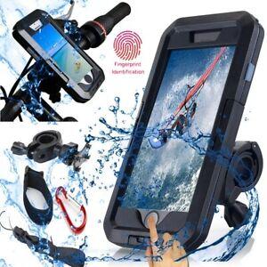 Motorcycle-Bike-Handlebar-Holder-Mount-Waterproof-Case-For-iPhone-X-XR-MAX-6-7-8