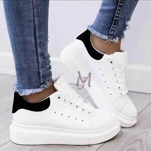 Scarpe-Da-Donna-Ginnastica-Sportive-Sneakers-casual-Zeppa-Para-Platform-shoes
