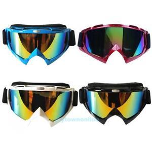 Motorcycle Motocross Goggles ATV Dirt Bike Off Road Racing Glasses Anti-UV Dust