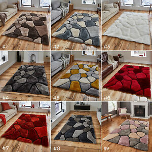 LARGE-THICK-SOFT-3D-TEXTURED-PILE-PEBBLE-STEPPING-STONES-NOBLE-HOUSE-RUG-NH-5858