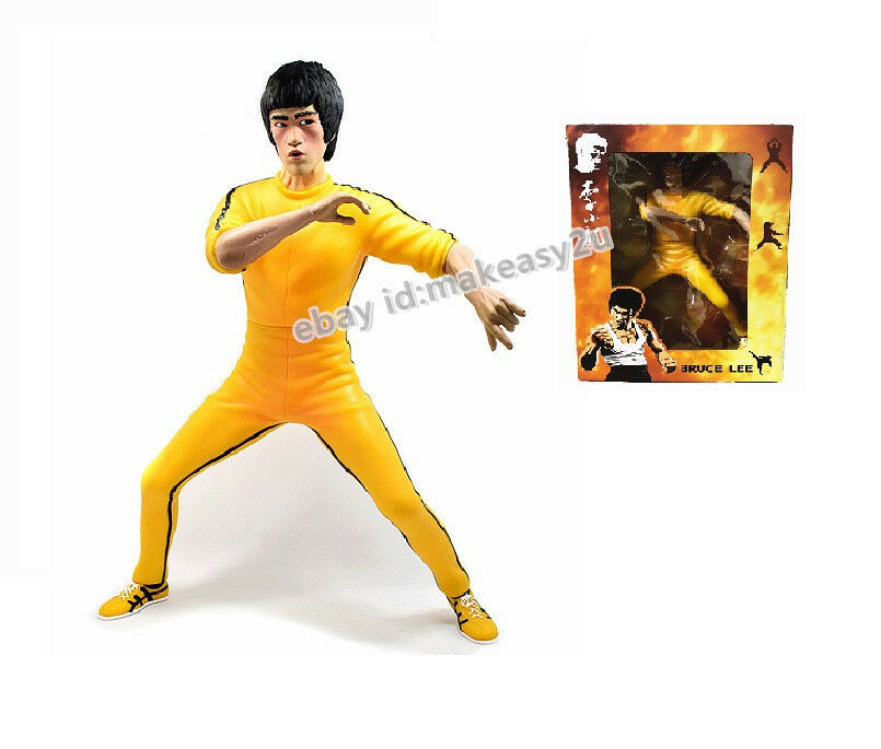 Bruce Lee's Game of Death Action Figure Kung Fu 35CM Toy