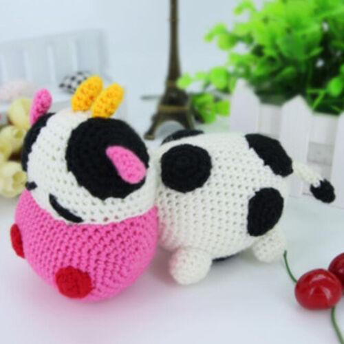 3D Animals Dolls Crochet Craft Kit for Beginners Knitting Stuffed Toy Handmade