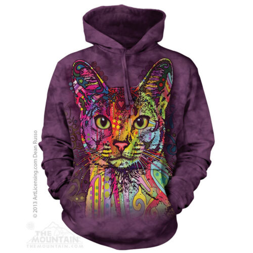 The Mountain Big Face Adult Animal Dog /& Cat Hoodie New Dean Russo Designs UK
