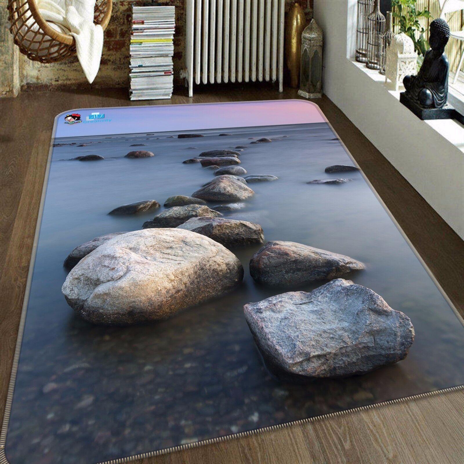 Pietra 3D View 427 tappetino antiscivolo tappeto camera Tappetino Qualità Elegante foto Tappeto UK