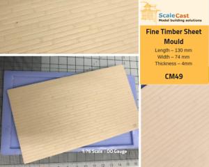 Fine-Timber-mould-Model-Railway-Scenery-OO-Scale-CM49