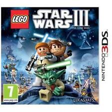 LEGO Star Wars III: The Clone Wars (Nintendo 3DS, 2011) - European Version