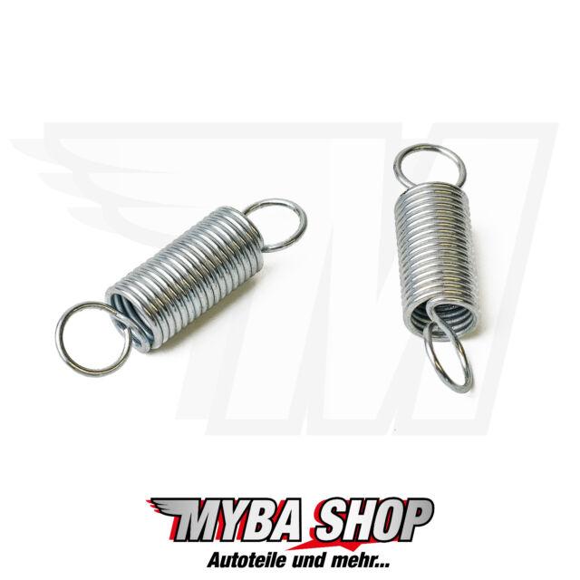 2x spring for bmw e39 5er saloon boot lock repair yr 95