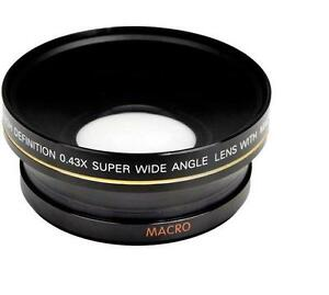 Bower 0.43x Super Wide Angle Lens w/ Macro For Nikon Coolpix P1000