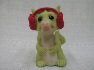 Whimsical World Of Pocket Dragons Fuzzy Ears Real Musgrave NIB Christmas