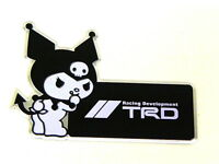 X1 Toyota Scion Kuromi Devil Hello Kitty Emblem Japan Rare Jdm
