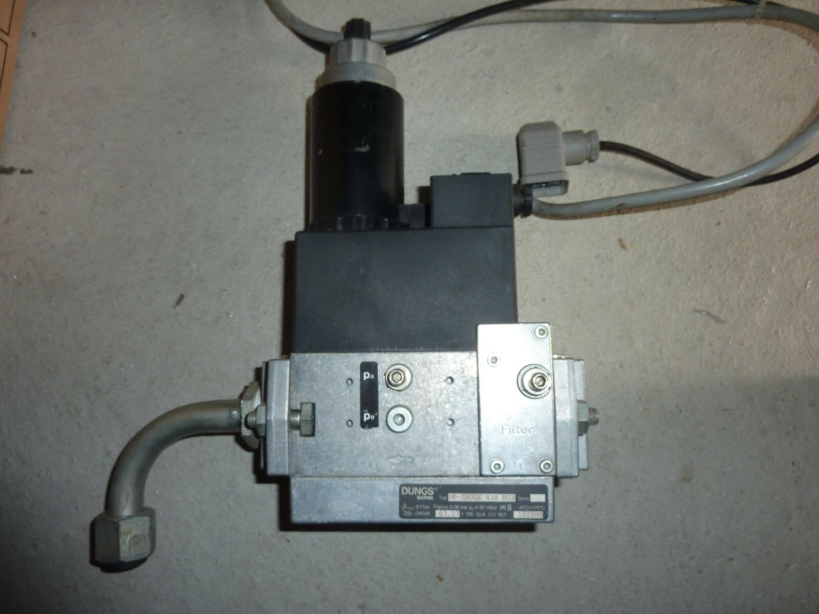 Gasarmatur Dungs  MB-ZRDLE 410 B03,  Gaskombiregler