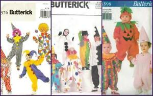 image is loading oop butterick patterns clown halloween costume pattern kids