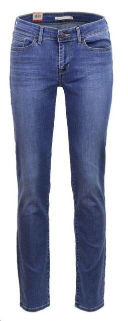 6b4bb14e Levi's 714 Straight L34 Jeans 27-34-blue Vista for sale online | eBay