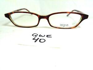 a701513e18 New LEGRE Eyeglasses Frame LE094 608 Tortoise Japan Rectangular (QWE ...