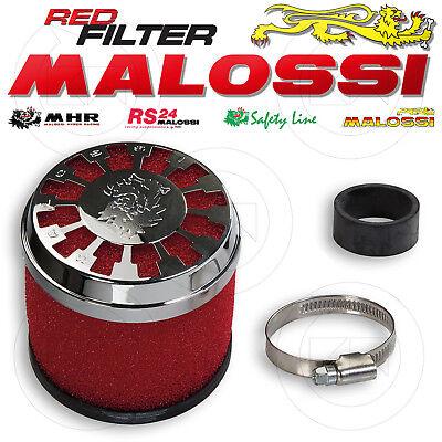 Malossi 0411729 Filtro Aria Red Filter E13 Ø32 / 38 Dritto Carburatore Phva 17,5