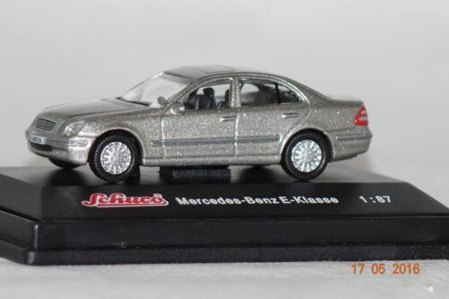 embalaje orig Mercedes clase e beige metalizado 1:87 Schuco nuevo 21681