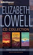 Elizabeth Lowell CD Collection 1: Desert Rain, Lover in the Rough, Beautiful Dre