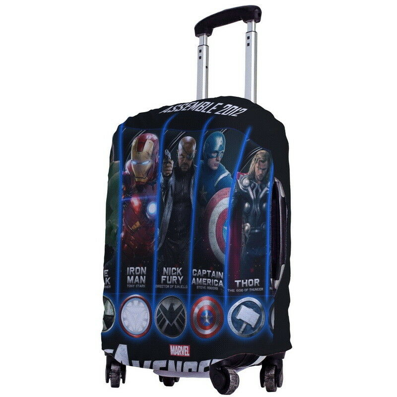 Avengers Movie Line Up Suitcase Cover