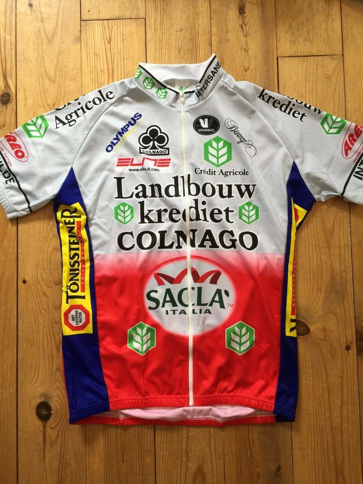 New Team Sacla Landbouwkrotiet Colnago Radfahren Sie Jersey -  Various Größes