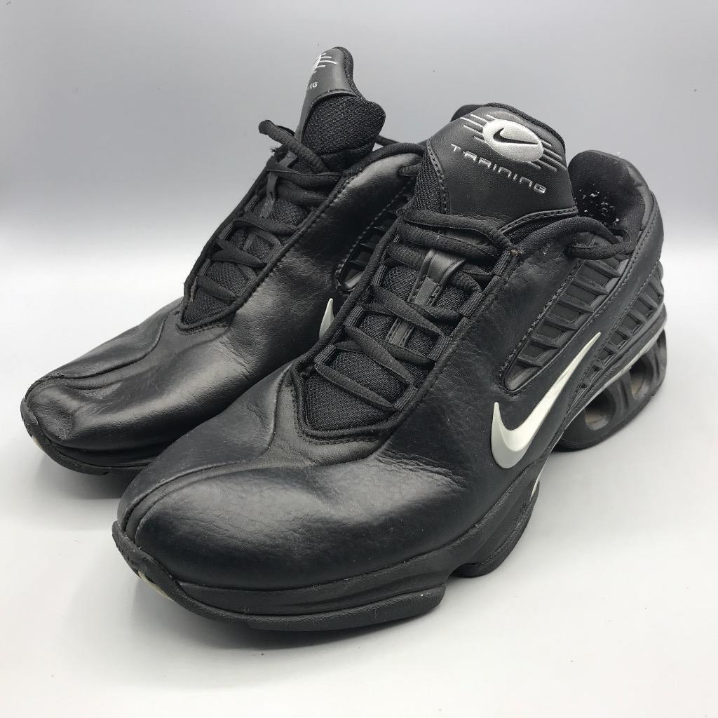 Men's Nike Air Max Trainer 040810 VX Size 10 Black Shoes