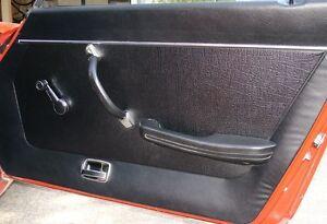 datsun 240z 1970 73 door panel skins new authentic reproduction choose color ebay