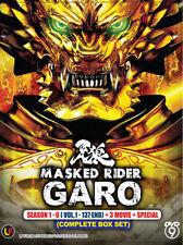 Masked Rider Garo Season 1 - 6 (Vol. 1-137 end ) + 3 Movie + Special ( Eng Sub)