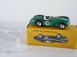 Atlas 1:43 R.Value 506 Aston Martin D B3 SPORT Dinky Toys Die-casting