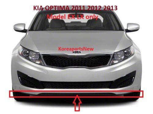 FRONT BUMPER LOWER SPOILER CHIN LIP 865902T000 KIA OPTIMA EX LX ONLY 2011-2013