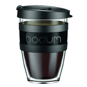 Bodum-11674-01S-1-Mug-a-Emporter-Isotherme-avec-Couvercle-Plastique-Noir