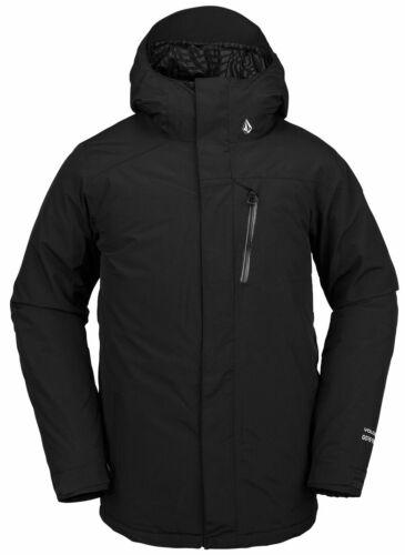 VOLCOM Snowboard Skijacke Winterjacke L GORE TEX Jacke 2021 black Schneejacke